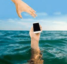 Portable sauve de l'eau de mer